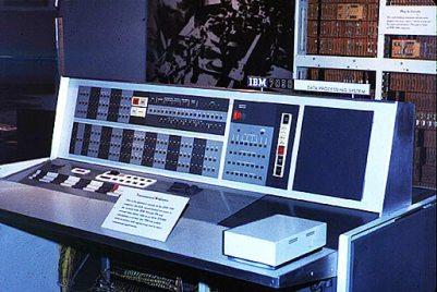 Мейнфрейм IBM 7090.